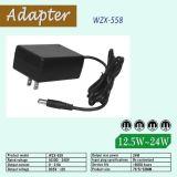 12V 2um adaptador de alimentação DC AC VDE Plug