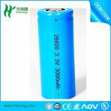 26650 3265022650 recarregável Bateria de Iões de Lítio LiFePO4 Bateria com Certificação do BIS