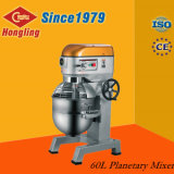 60L Profesional Industrial Mezclador planetario para hornear tortas