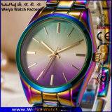 ODM 우연한 형식 스테인리스 숙녀 고전적인 손목 시계 (WY-P17003C)