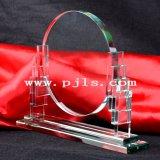 Concesión cristalina del trofeo de la fuente de la fábrica de Pujiang