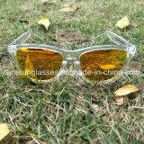 Lunettes de soleil faites sur commande anti-éblouissantes en gros d'hommes de lunetterie du logo UV400 de promotion