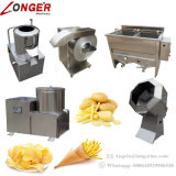 Commerciaux et Industriels Chips de pommes de terre semi-automatique Making Machine