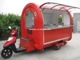 Rimorchio mobile elettrico dell'alimento delle rotelle di alta qualità 3