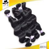 Cabelo não processado peruano do cabelo humano