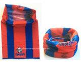 Bandanna elastico del tubo del collo del poliestere su ordinazione di marchio dei prodotti dell'OEM della fabbrica della Cina