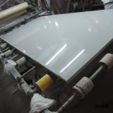 pedra artificial branca pura de quartzo da espessura de 2cm para a venda