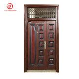 Stahltür-Außendoppelt-Halle-Stahltüren mit Glas, Yongkang Wuyi Fabrik