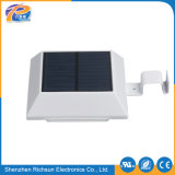 Square E27 6-10W LED de pared Solar Spotlight luz exterior