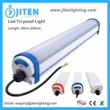 PC impermeabile che alloggia l'indicatore luminoso lineare del tubo della Tri-Prova industriale del LED