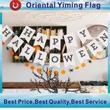 Vlag 100% van het Koord van de Decoratie van Halloween Bunting van het Land van de Stof van de Polyester de Vlaggen van het Koord