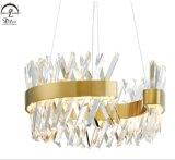 Современные Светодиодные плафоны освещения салона подвешивания Crystal украшение интерьера