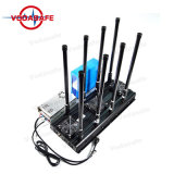 CDMA/GSM/3G2100MHz/4glte Cellphone/Wi-Fi2.4G/Bluetooth/GPS/Glonass/Galileol1l2のために詰め込む高い発電のProfressionalの妨害機モデル8アンテナシグナルのアイソレーター