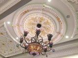 83020-декоративным PU квадратные потолочные Medallions для строительного материала
