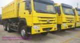 HOWO Dumper caixa basculante 30t/caixa de carga/caminhão basculante no Uganda