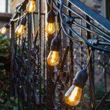 党結婚式の庭装飾的な耐候性がある48feet屋外LEDのフィラメントのハングライト