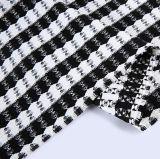 Jacquard costume tissé polyester Tissu de rayonne de 75 25