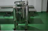 Medidas sanitarias tanque de acero inoxidable tanque de refrigeración y calefacción