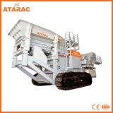 Macchina mobile del frantoio per pietre del cingolo di rendimento elevato per estrazione mineraria (YT-150)
