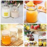 Marmelade-Marmeladen-Glasmilch-Glas des Pudding-3oz mit PET Kappe