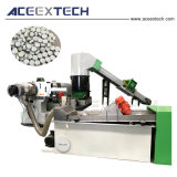 HDPE Korrels die Machine met het Scherpe Systeem van het Water maken