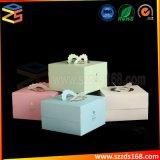 Vakje van de Cake van het Karton van het Document van de Kunst van de douane het In het groot Vierkante