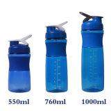 26oz/760ml Tritan proteínas Deporte Shaker botellas con bola de metal mezclador