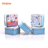 Cosmetics Makeupのための空のSmall Square Tin Box