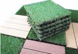 Tuile amovible de verrouillage de gazon artificiel pour le jardin DIY