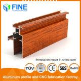 Лучшие пользовательские алюминиевых профилей с помощью деревянных передачи в Китае