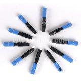 FTTH Sc/APC Sc/Upc Faser-fasten schneller Optikbereich Verbinder