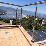 Câble SUS316 balustrade balustrade pour près de la mer étanche de clôture