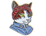 수백 피복 훈장을%s 니스 동물 디자인 사기질 접어젖힌 옷깃 Pin