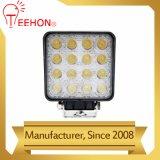 Square 48 W LED lámpara de trabajo de Aluminio Alquiler de coches