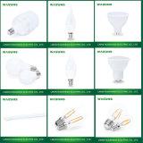 9W L'aluminium plus plastique PBT E27 B22 ampoule LED