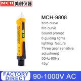 Sans contact de l'induction crayon test AC110V 220V de la sonde de tension du voltmètre Indicateur Testeur de détecteur d'alimentation électrique prise D001 9808