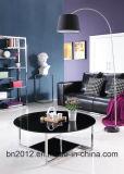 Новая домашняя мебель гостиной мебели верхней стеклянной кофейный столик