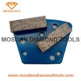 Strumenti del diamante delle doppie barre di Diamatic per la molatura concreta