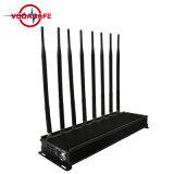 De nieuwste ModelGPS van de Stoorzender van Lojack van de Stoorzender van de Telefoon van 8 Banden 3G 4G Stoorzender van WiFi van de Stoorzender, 8 Band Cellphone, de Stoorzender van het Signaal van de Afstandsbediening, de Goedkope Stoorzender van 8 Antenne Wholesales