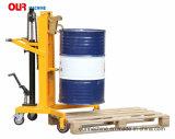 v-förmige fußbetätigte hydraulische Transportvorrichtungen Dtf450b der Trommel-450kg