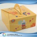 Pastel de caja de papel de panadería personalizado Embalaje (XC-1-059)