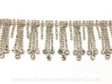Kledingaccessoires,High-Grade A-drilled Copper Claw Chain Welding Diamond Chain Tassel, Decorative Barcode,Fashion Accessories, Clothing Accessories, voor CLO