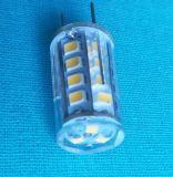 3W branco quente de 120V G8 a intensidade de luz da lâmpada LED