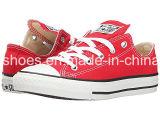 Fábrica OEM Nuevo estilo casual botas zapatos de lona vulcanizado (ZA611-13)