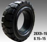 Korea-Qualitätsgabelstapler-Vollreifen-pneumatischer Gummireifen-industrieller Gummireifen 8.25-15