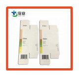 Custom pequeña caja de papel para botella de cosméticos