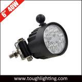 """Encendido automático de luces 6"""" 40W, luces LED de inundación Oval cree las luces de trabajo con los soportes laterales"""