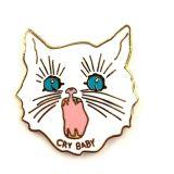Una muestra gratis Custom lindo gato metal esmaltado de moda Pin de solapa