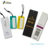 Custom Impinj Monza Les étiquettes RFID UHF balises de suivi pour les vêtements