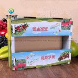 Печать из гофрированного картона цвет фруктов (Apple) упаковочной коробке для хранения